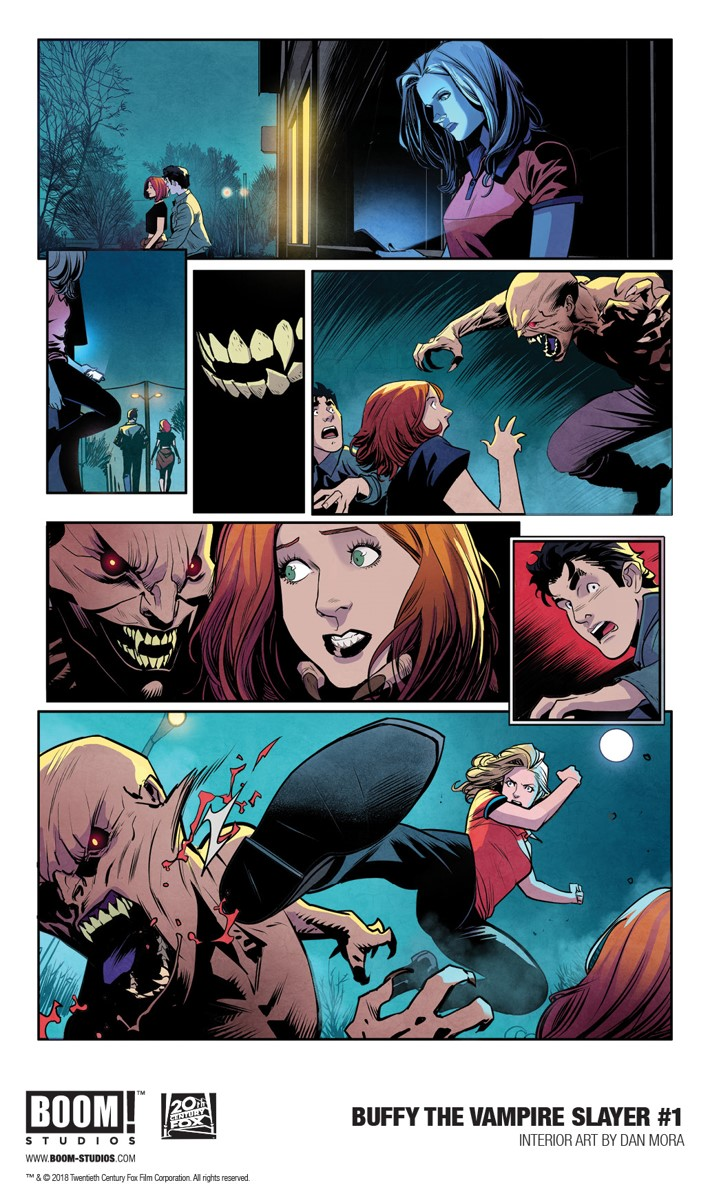 First Look at BOOM! Studios' BUFFY THE VAMPIRE SLAYER #1