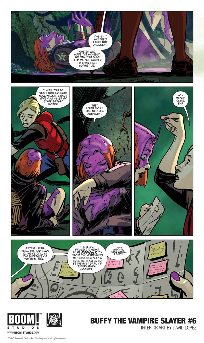 First Look At Boom Studios Buffy The Vampire Slayer 6