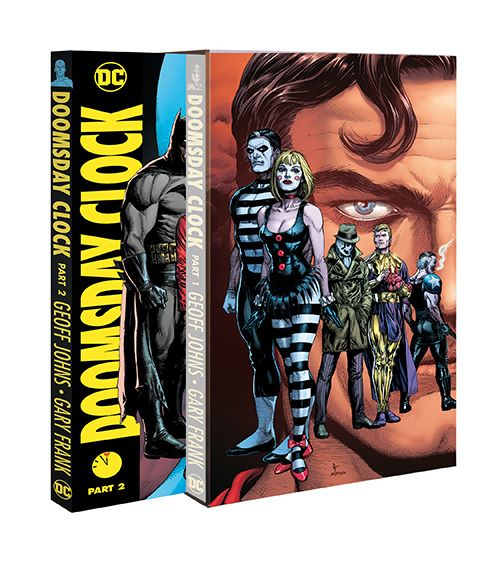 Doomsday Clock Part 2 Ships With Free Slipcase