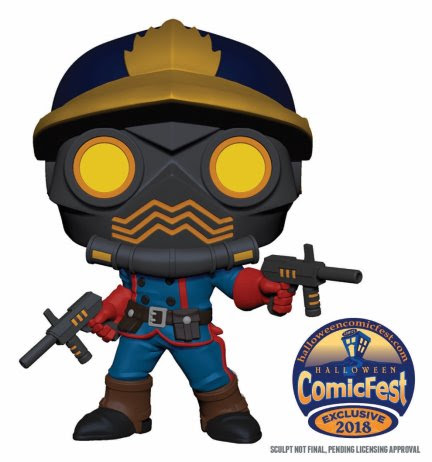 Halloween ComicFest 2018 Toys 1 Halloween ComicFest 2018 to feature exclusive Star-Lord and Deadpool toys