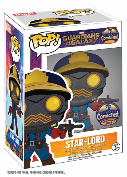 Halloween ComicFest 2018 Toys 2 Halloween ComicFest 2018 to feature exclusive Star-Lord and Deadpool toys