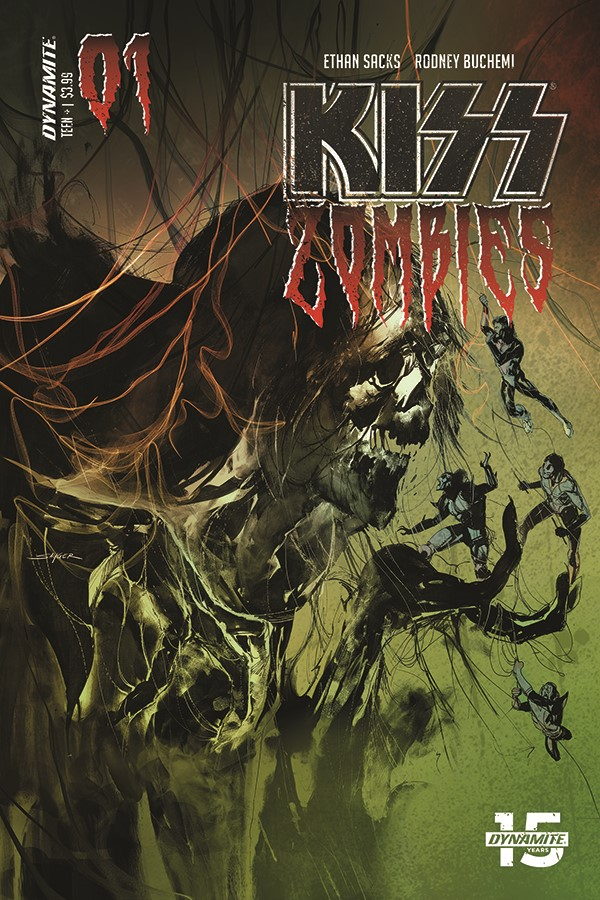 Kiss Zombies Coming This November From Ethan Sacks And
