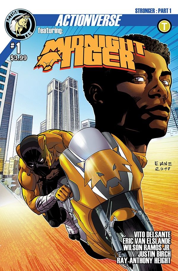 Midnight Tiger Stronger 1 Cover A First Look at Action Lab Entertainment's MIDNIGHT TIGER STRONGER #1