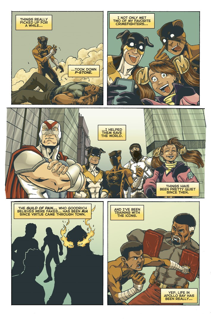 Midnight Tiger Stronger 1 Page 2 First Look at Action Lab Entertainment's MIDNIGHT TIGER STRONGER #1