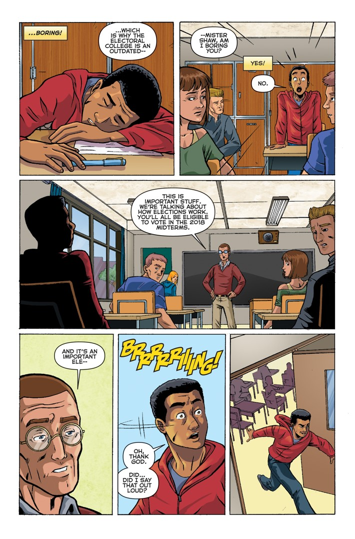 Midnight Tiger Stronger 1 Page 3 First Look at Action Lab Entertainment's MIDNIGHT TIGER STRONGER #1