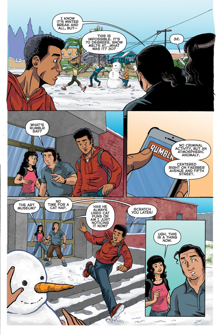 Midnight Tiger Stronger 1 Page 5 First Look at Action Lab Entertainment's MIDNIGHT TIGER STRONGER #1