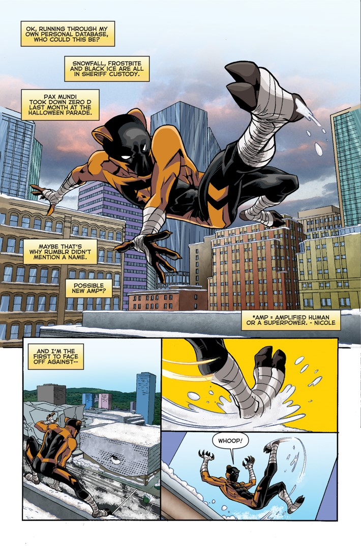 Midnight Tiger Stronger 1 Page 6 First Look at Action Lab Entertainment's MIDNIGHT TIGER STRONGER #1
