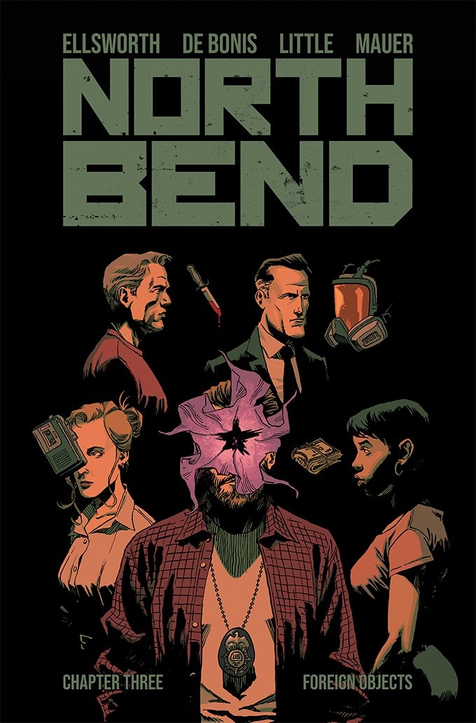 North Bend 3 The experiment begins with Scout Comics' NORTH BEND
