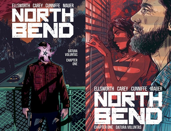 North Bend 4 The experiment begins with Scout Comics' NORTH BEND