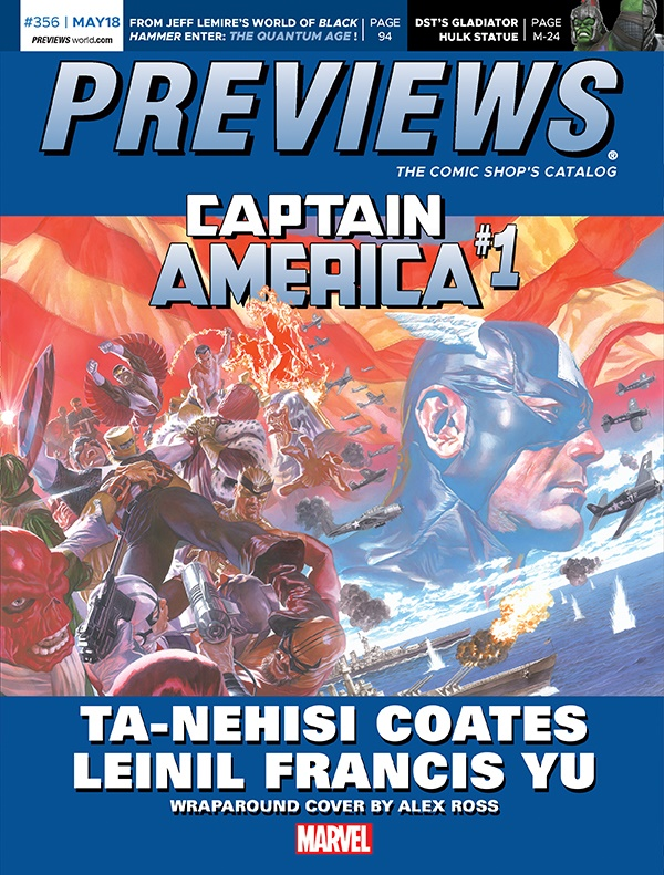 Previews July 2018 Front Cover Preview the July 2018 PREVIEWS Catalog