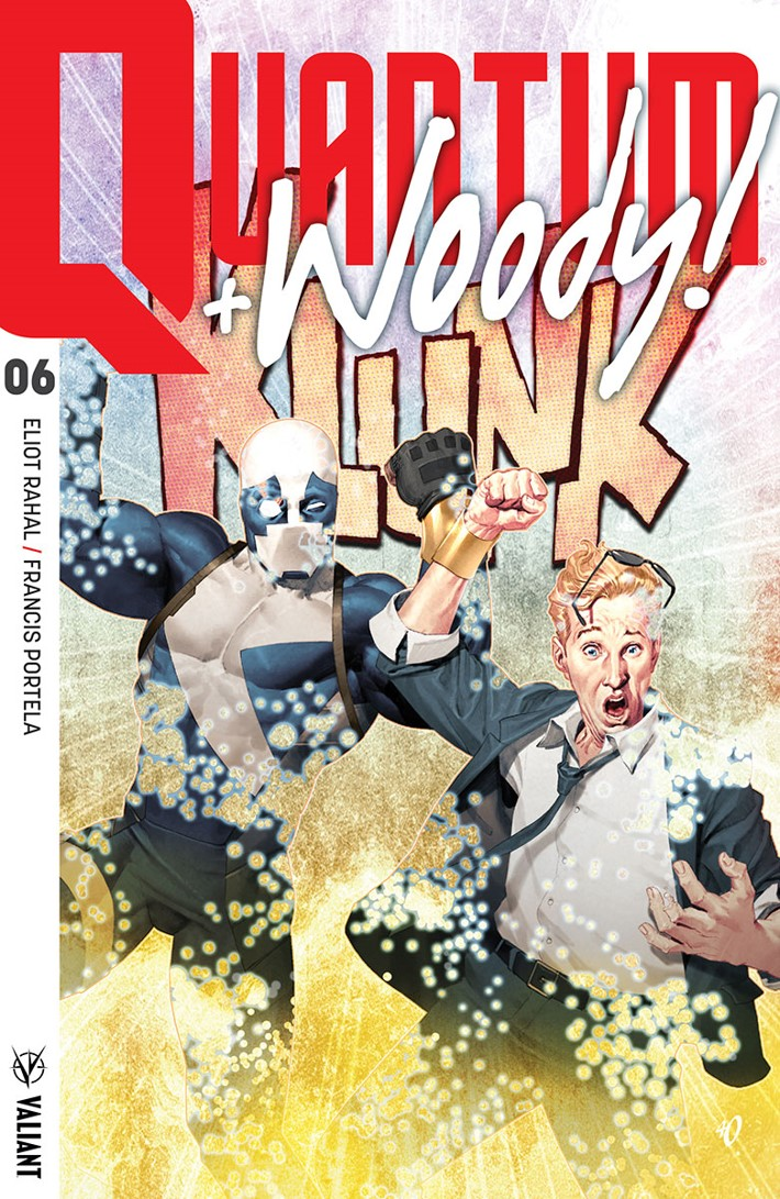 QW2017_006_COVER-A_OLIVETTI copy First Look at Valiant Entertainment's QUANTUM AND WOODY! (2017) #6