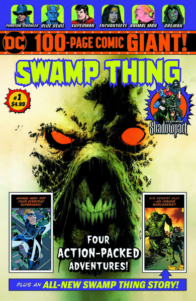 dc walmart line expands to six titles with swamp thing and