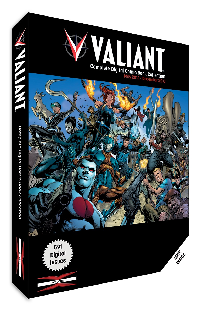 Valiant Digital Collection Cover Get it all in Valiant: The Complete Digital Comic Book Collection