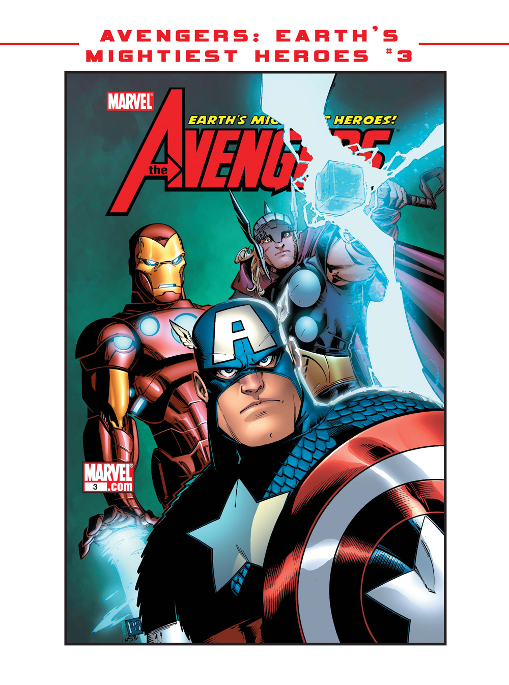 12_Avengers-Earth ComicList Previews: MARVEL COMICS DIGEST #6 (AVENGERS VS THANOS)