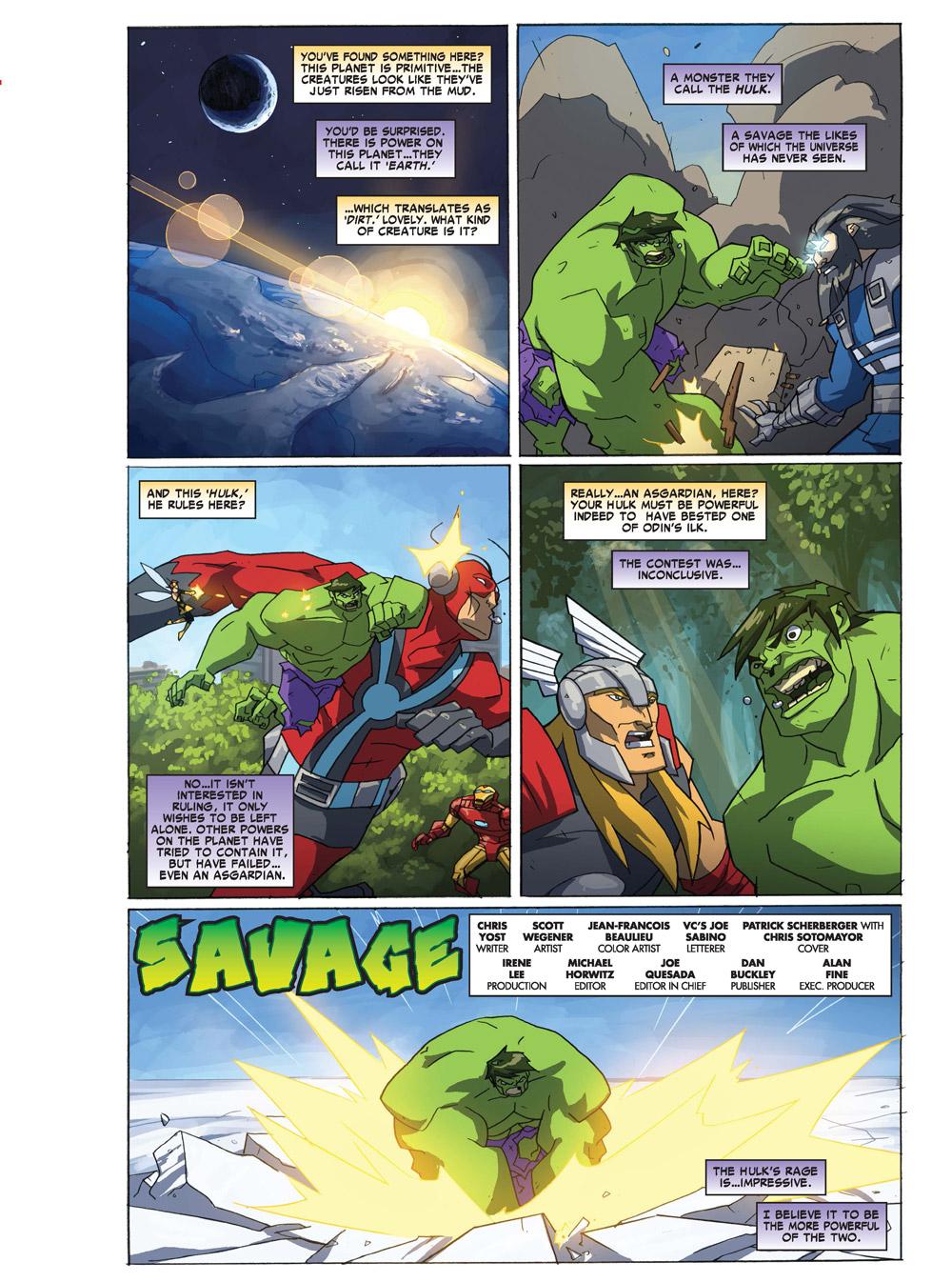 13_Avengers-Earth ComicList Previews: MARVEL COMICS DIGEST #6 (AVENGERS VS THANOS)