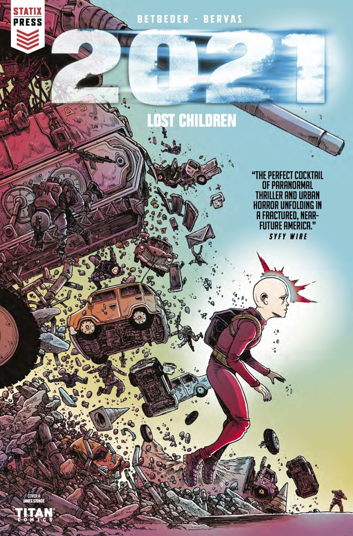2021 Lost Children 1 Cover A ComicList Previews: 2021 LOST CHILDREN #1
