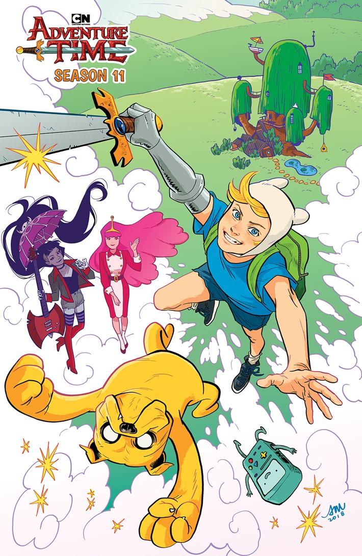 comiclist previews  adventure time season 11  1