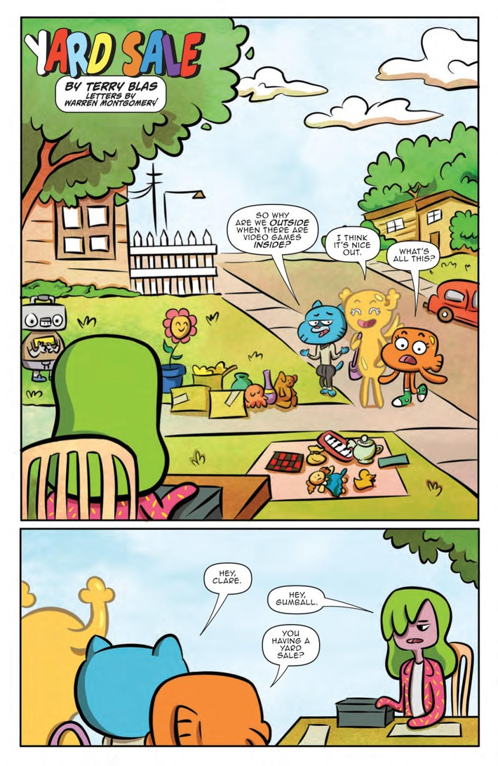 ComicList Previews: AMAZING WORLD OF GUMBALL ADVENTURES IN ELMORE GN