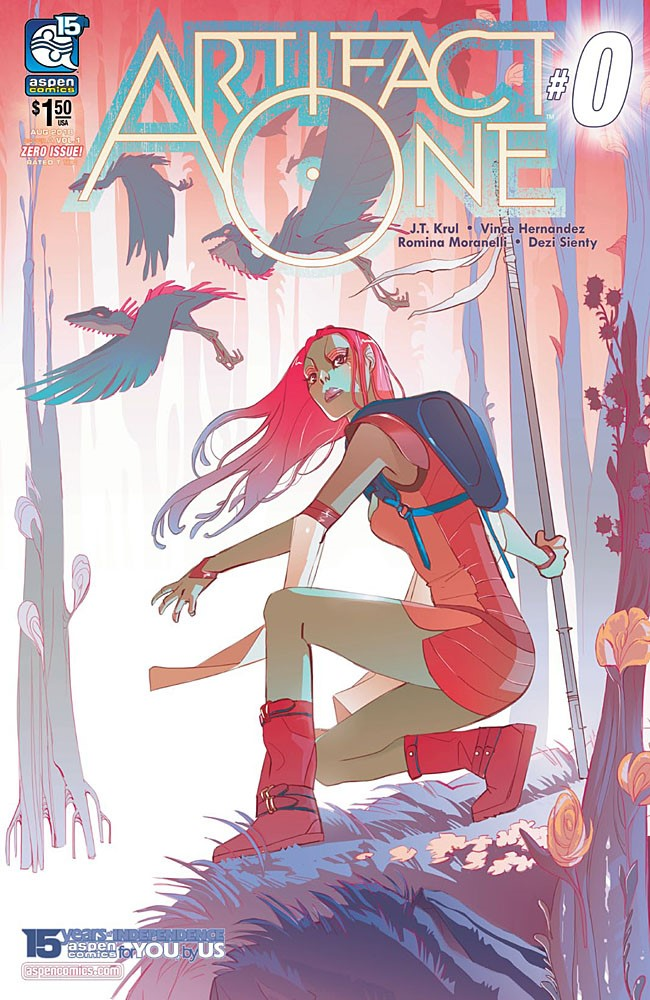 Artifact One Cover A ComicList Previews: ARTIFACT ONE #0