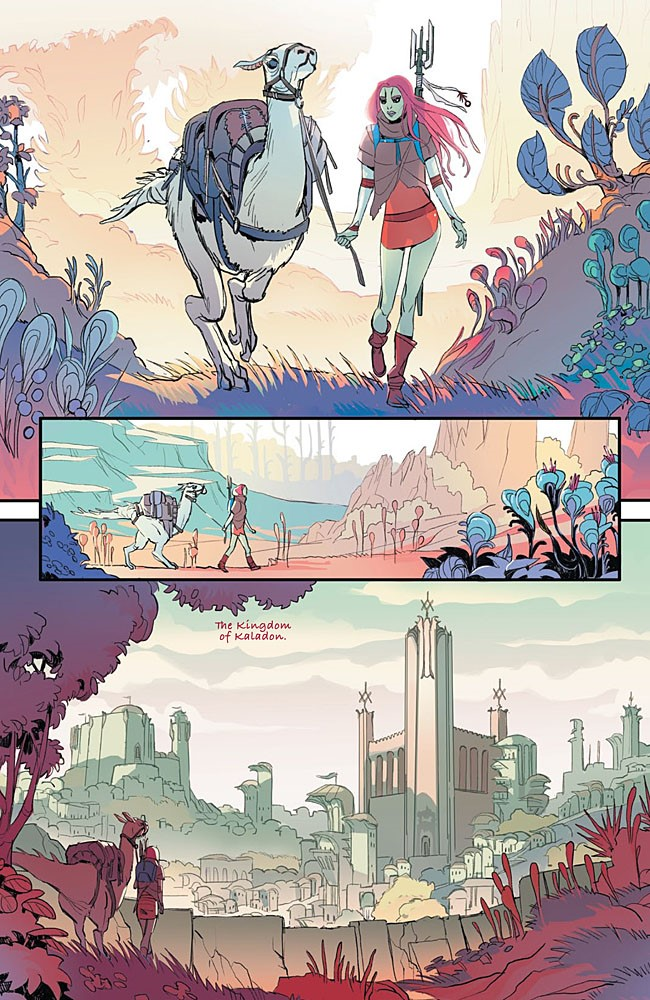 Artifact One Page 4 ComicList Previews: ARTIFACT ONE #0