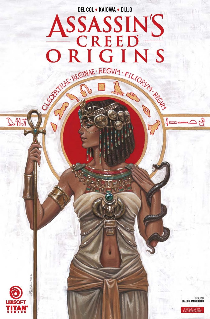 Assassins_Creed_Origins_4_lowres_Page_CVR B ComicList Previews: ASSASSIN'S CREED ORIGINS #4