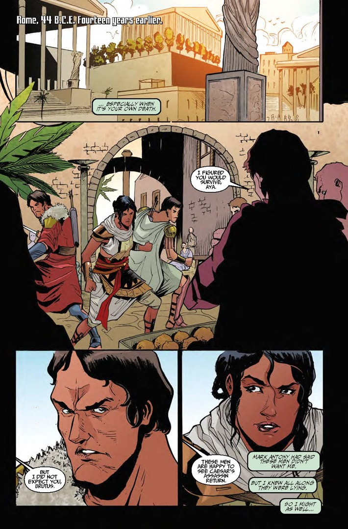 Assassins_Creed_Origins_4_lowres_Page_Pg 4 ComicList Previews: ASSASSIN'S CREED ORIGINS #4