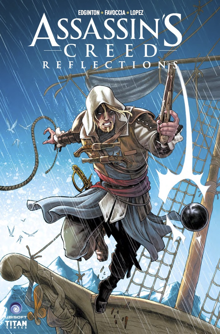 comiclist preview  assassin u0026 39 s creed reflections  3