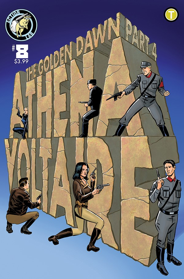 Athena Voltaire Ongoing 8 Cover A ComicList Previews: ATHENA VOLTAIRE #8