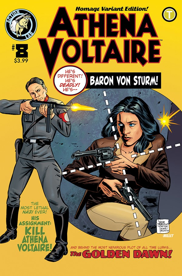 Athena Voltaire Ongoing 8 Cover B ComicList Previews: ATHENA VOLTAIRE #8