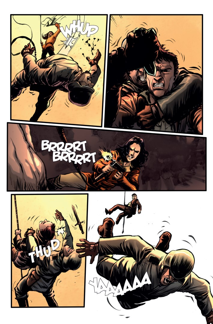 Athena Voltaire Ongoing 8 Page 2 ComicList Previews: ATHENA VOLTAIRE #8