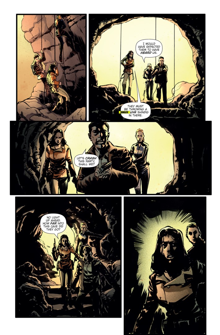 Athena Voltaire Ongoing 8 Page 3 ComicList Previews: ATHENA VOLTAIRE #8