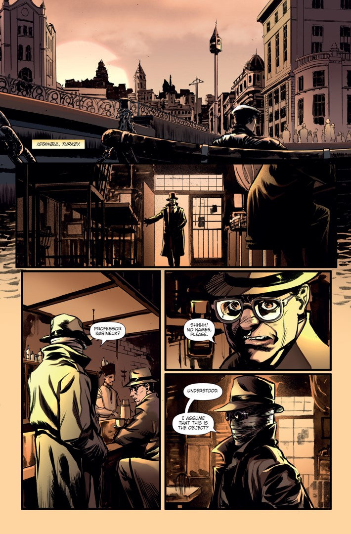 Athena Voltaire Ongoing 8 Page 4 ComicList Previews: ATHENA VOLTAIRE #8
