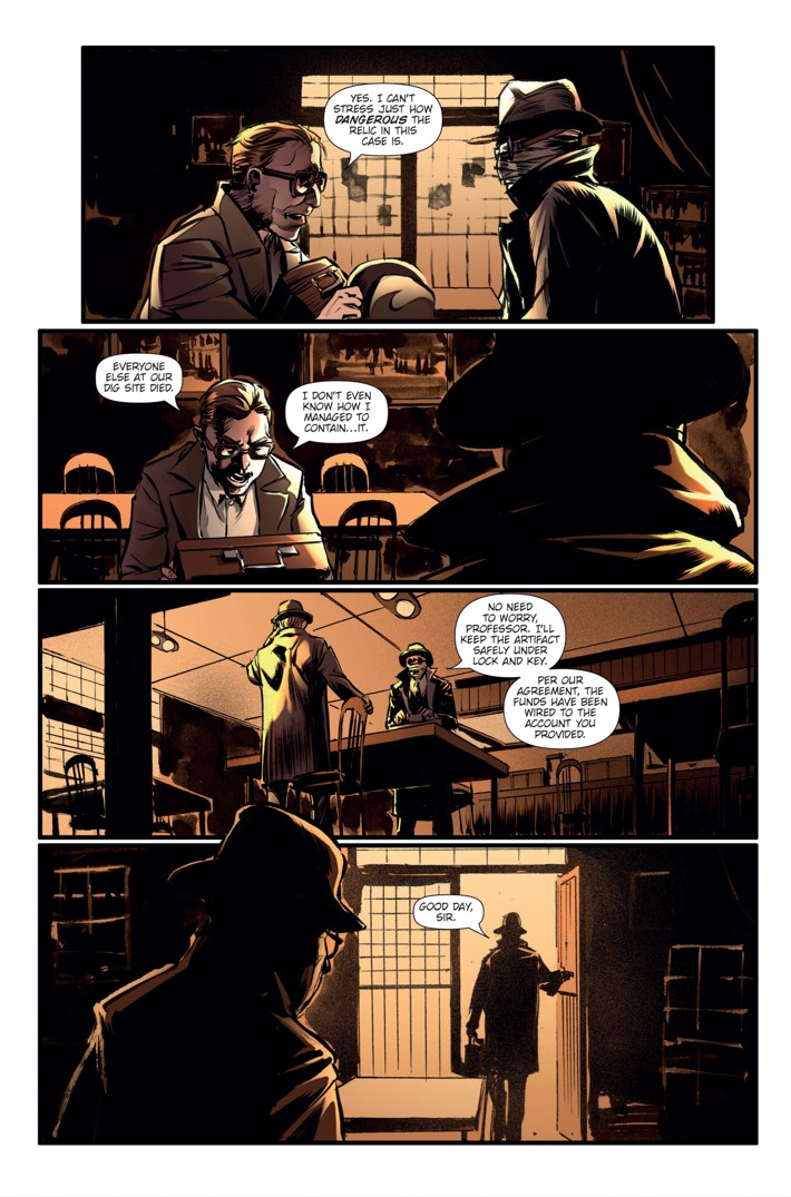 Athena Voltaire Ongoing 8 Page 5 ComicList Previews: ATHENA VOLTAIRE #8