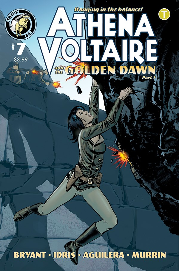 Athena Voltaire Ongoing_7 Cover A ComicList Previews: ATHENA VOLTAIRE #7