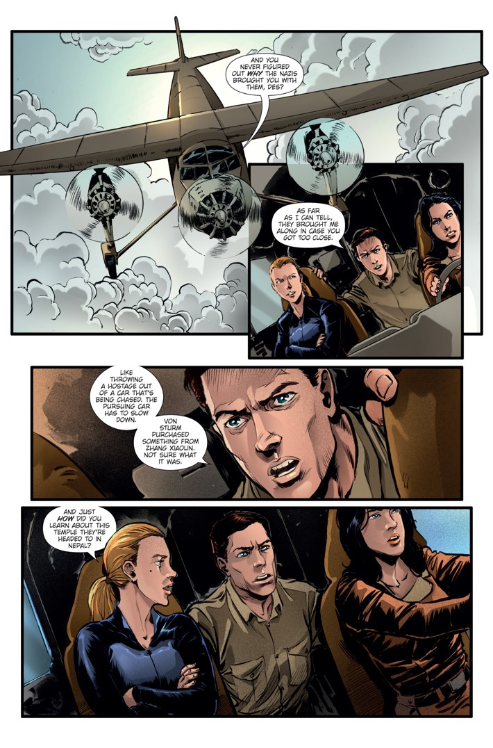 Athena Voltaire Ongoing_7 Page 1 ComicList Previews: ATHENA VOLTAIRE #7