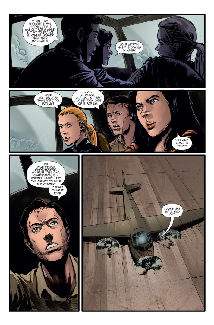 Athena Voltaire Ongoing_7 Page 2 ComicList Previews: ATHENA VOLTAIRE #7