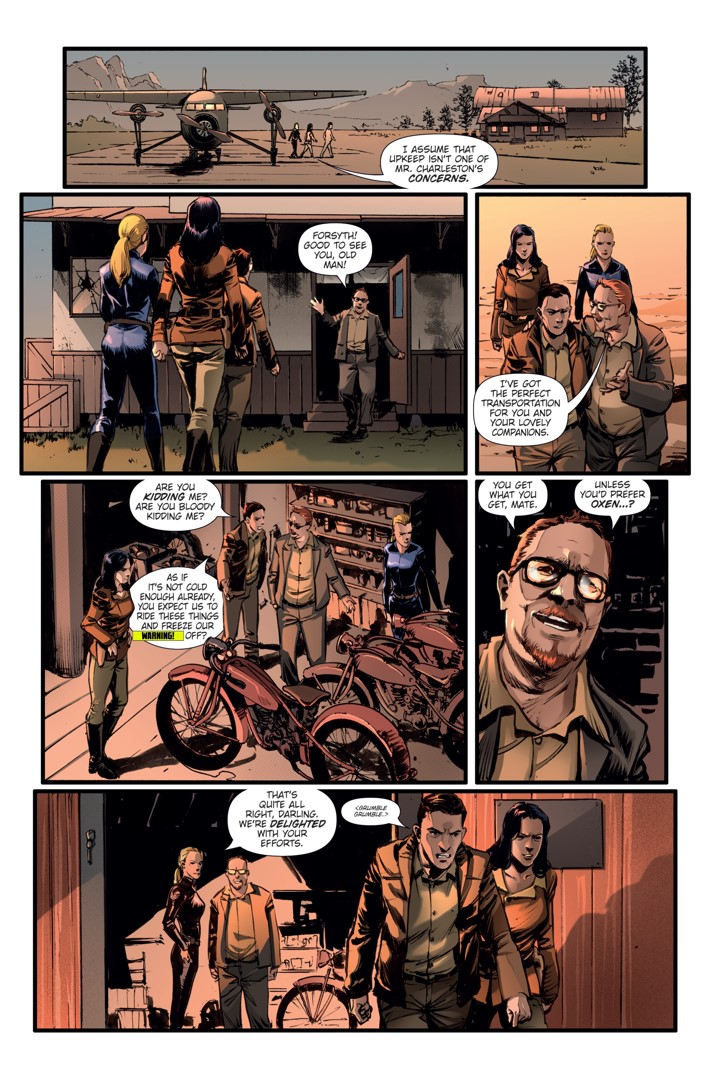 Athena Voltaire Ongoing_7 Page 3 ComicList Previews: ATHENA VOLTAIRE #7
