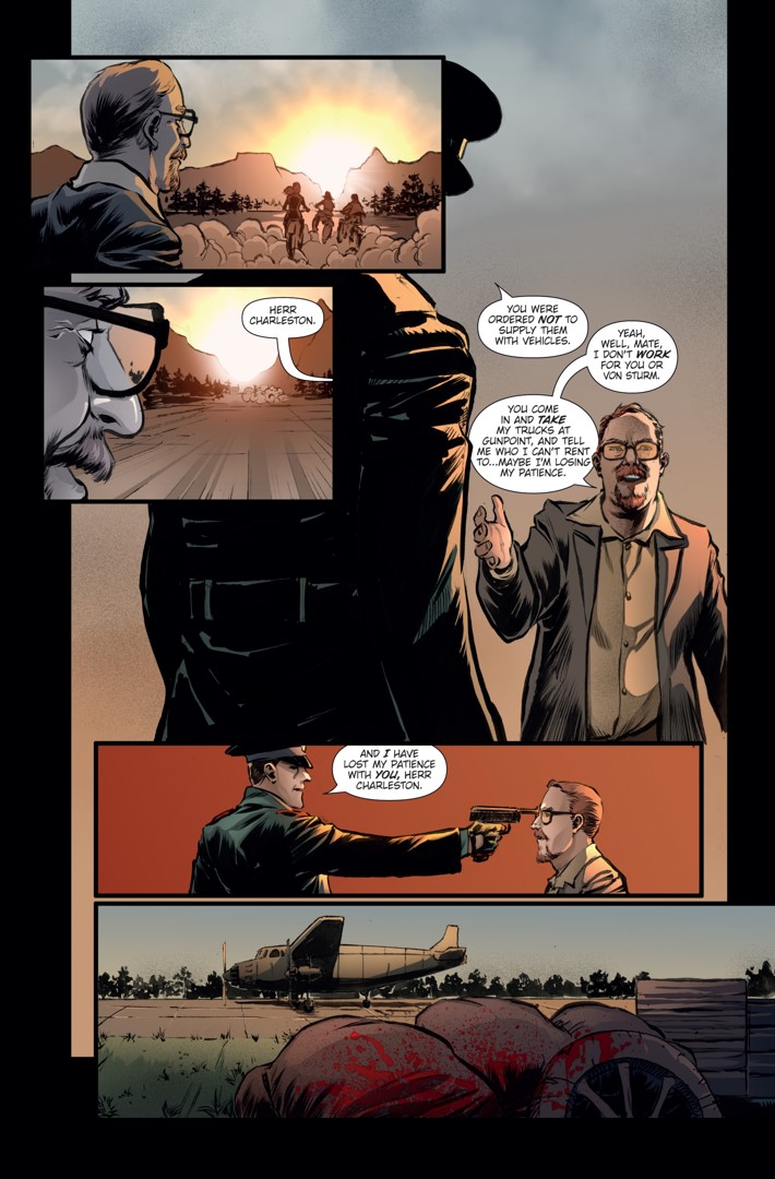 Athena Voltaire Ongoing_7 Page 4 ComicList Previews: ATHENA VOLTAIRE #7