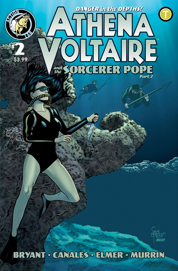 Athena Voltaire and the Sorcerer Pope 2 Cover ComicList Previews: ATHENA VOLTAIRE AND THE SORCERER POPE #2