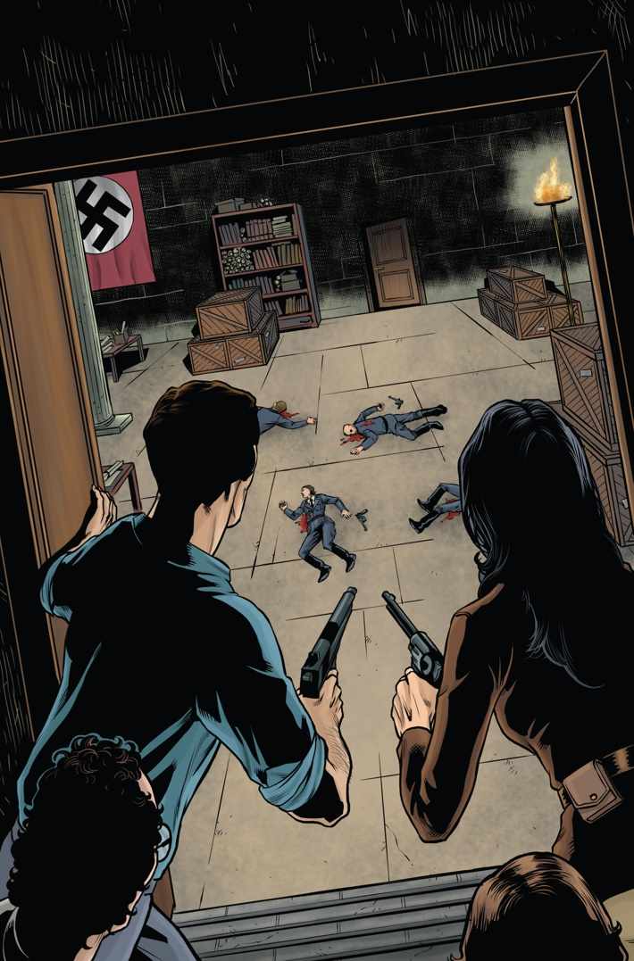 Athena Voltaire and the Sorcerer Pope 2 Page 2 ComicList Previews: ATHENA VOLTAIRE AND THE SORCERER POPE #2