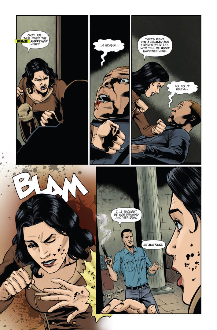 Athena Voltaire and the Sorcerer Pope 2 Page 5 ComicList Previews: ATHENA VOLTAIRE AND THE SORCERER POPE #2
