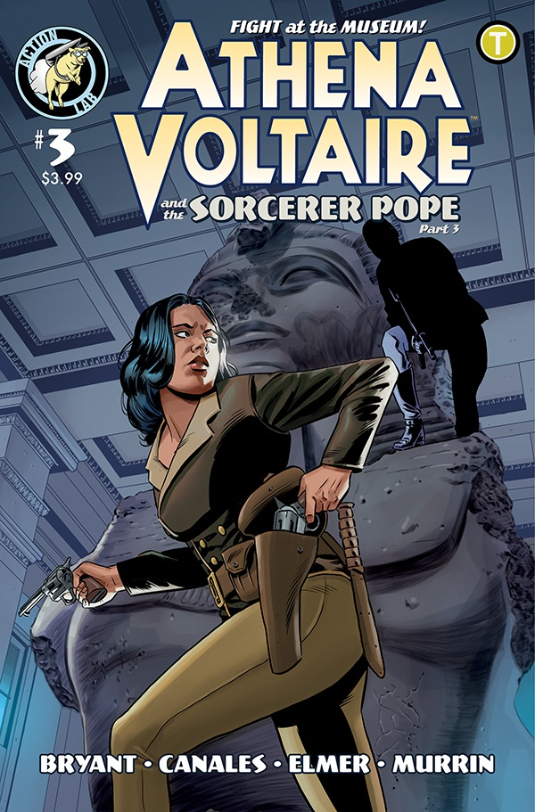 Athena Voltaire and the Sorcerer Pope 3 Cover A ComicList Previews: ATHENA VOLTAIRE AND THE SORCERER POPE #3