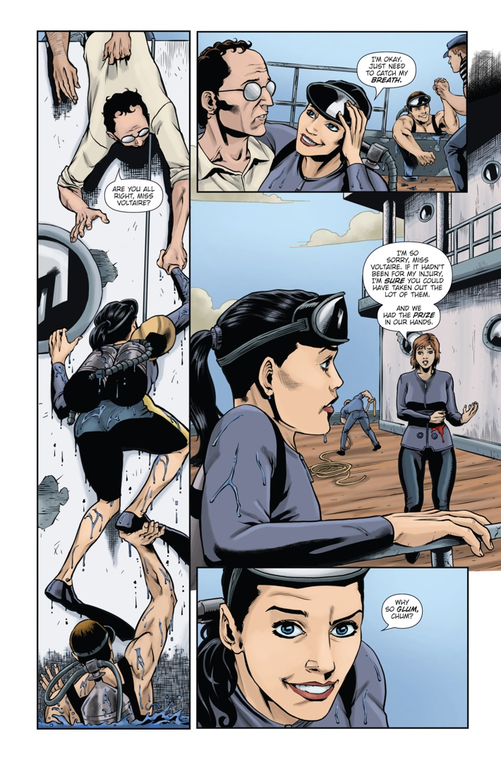 Athena Voltaire and the Sorcerer Pope 3 Page 3 ComicList Previews: ATHENA VOLTAIRE AND THE SORCERER POPE #3