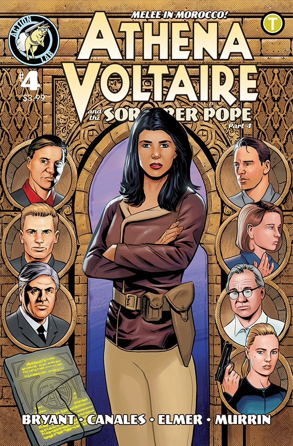 Athena Voltaire and the Sorcerer Pope 4 Cover ComicList Previews: ATHENA VOLTAIRE AND THE SORCERER POPE #4
