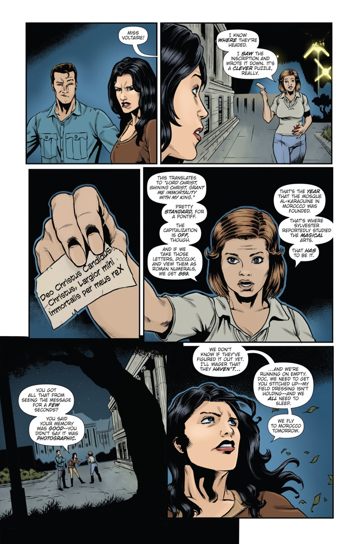 Athena Voltaire and the Sorcerer Pope 4 Page 1 ComicList Previews: ATHENA VOLTAIRE AND THE SORCERER POPE #4