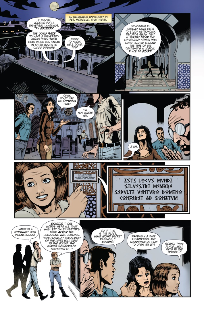 Athena Voltaire and the Sorcerer Pope 4 Page 4 ComicList Previews: ATHENA VOLTAIRE AND THE SORCERER POPE #4