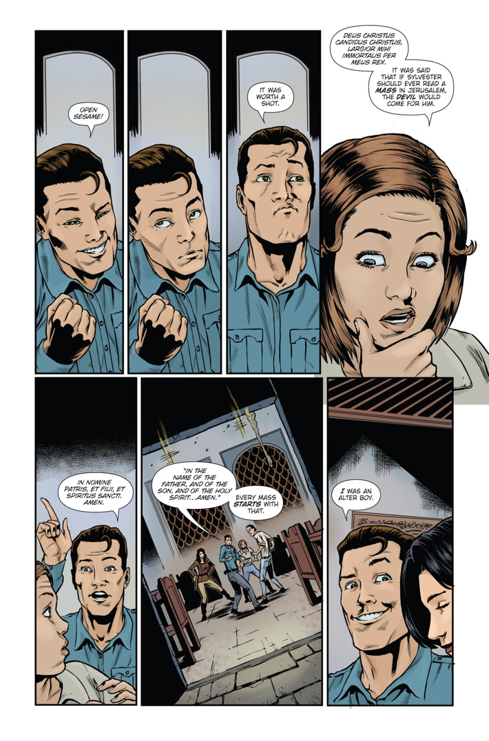 Athena Voltaire and the Sorcerer Pope 4 Page 5 ComicList Previews: ATHENA VOLTAIRE AND THE SORCERER POPE #4