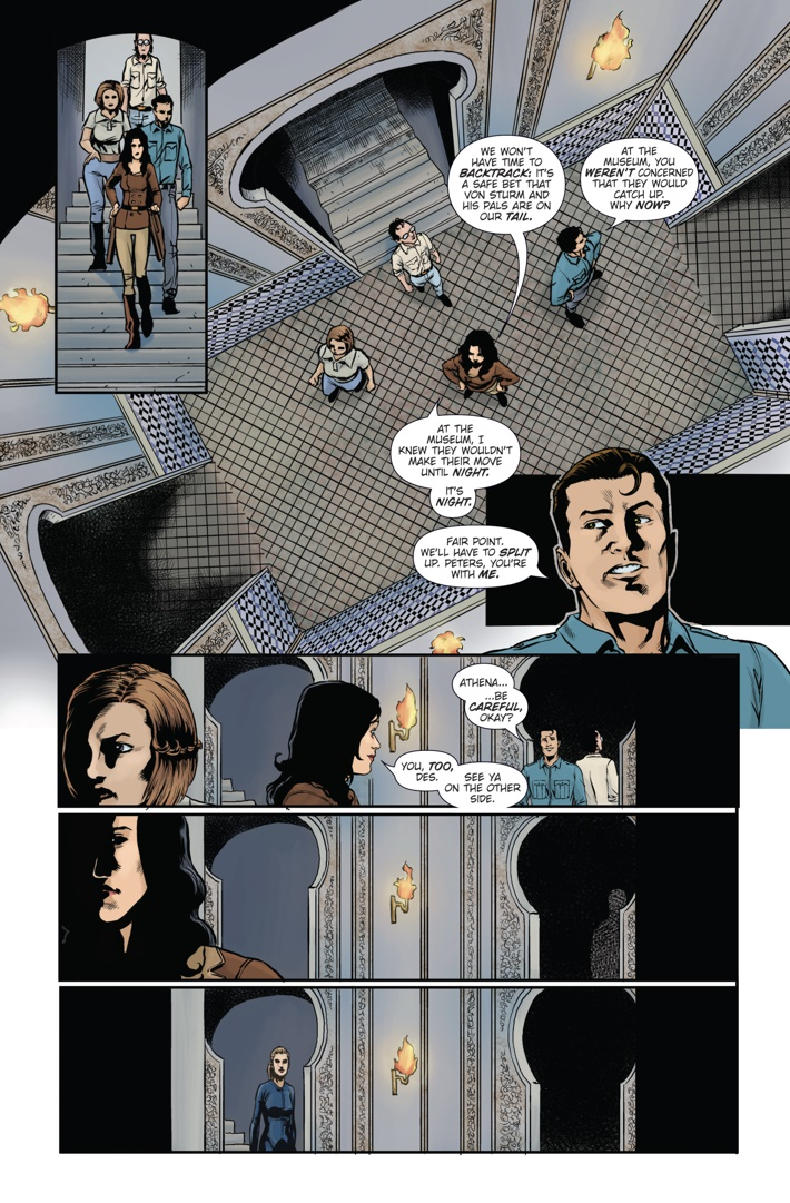 Athena Voltaire and the Sorcerer Pope 4 Page 6 ComicList Previews: ATHENA VOLTAIRE AND THE SORCERER POPE #4