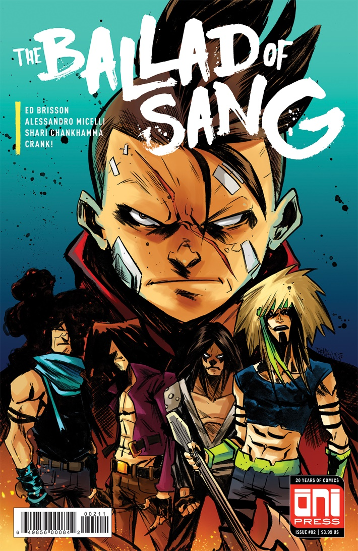 BALLADSANG 2 - 4x6 COVER SOLICIT WEB ComicList Previews: THE BALLAD OF SANG #2