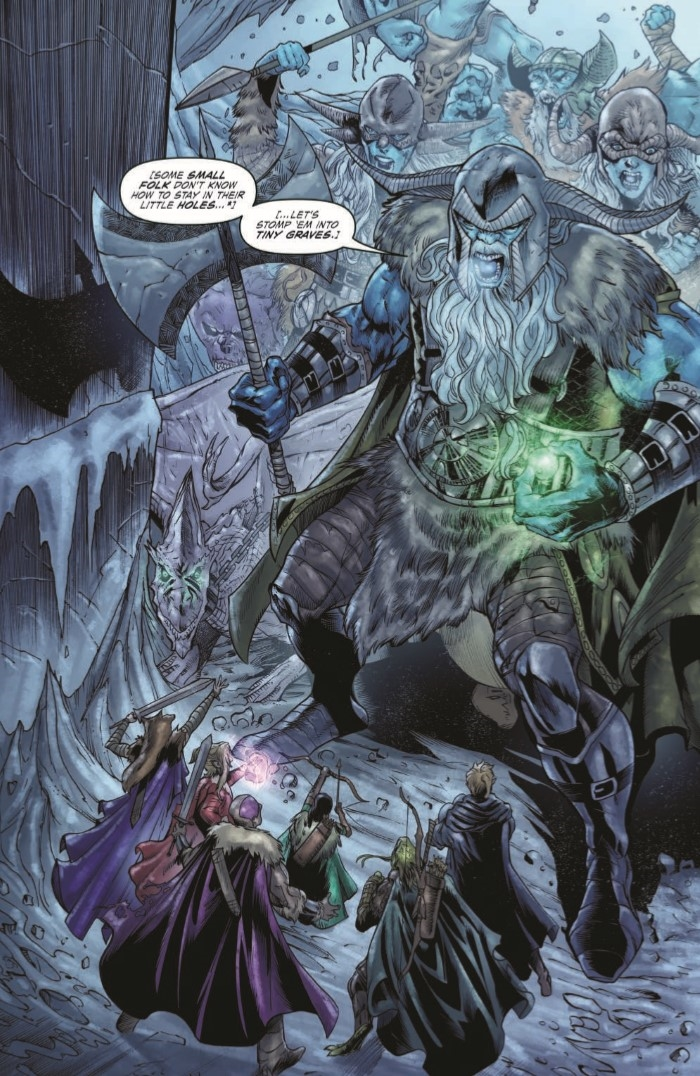 Comiclist Previews Dungeons And Dragons Frost Giant S Fury 5